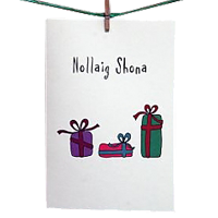 Card: Merry Christmas (Presents)