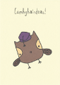 Card: Congratulations! - Owl