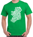 Place-name Map of Ireland - T-Shirt